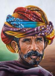 Indian camel trader